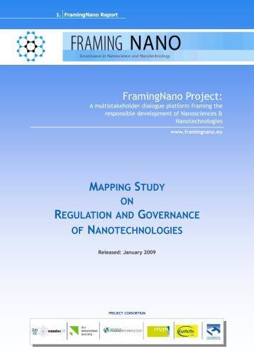 Mapping Study on Regulation and Governance of ... - Nanowerk