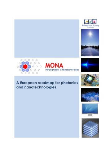 A European roadmap for photonics and nanotechnologies