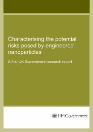 Characterising the potential risks posed by engineered ... - Nanowerk