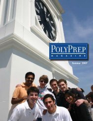 3UMMER - Poly Prep Country Day School