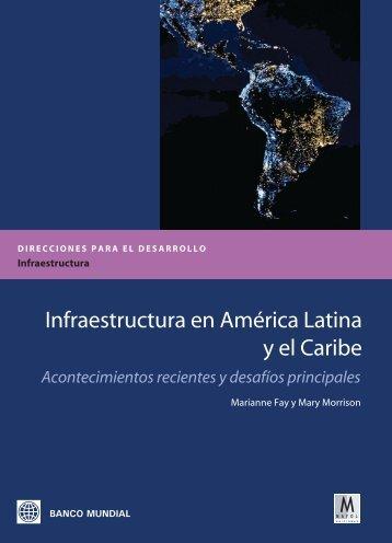 Infraestructura en América Latina y el Caribe - ppiaf
