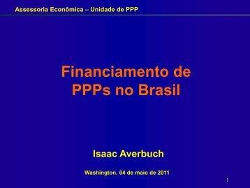 Assessoria Econômica – Unidade de PPP - ppiaf