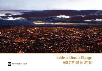 Guide to Climate Change Adaptation in Cities - ppiaf