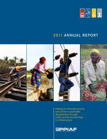 2011 AnnuAl RepoRt - ppiaf