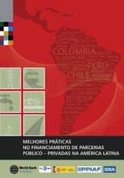 financiamento de PPPs na América Latina - ppiaf