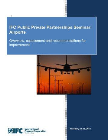 IFC Public Private Partnerships Seminar: Airports - ppiaf