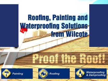 Roofing and building maintenance in Western Cape and from Wilcote