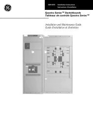 Installation and Maintenance Guide Guide d'installation et d ... - Salvex