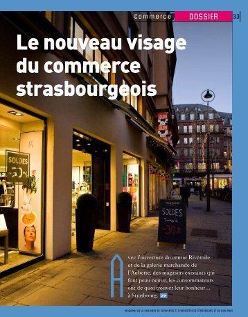 Le nouveau visage du commerce strasbourgeois - (CCI) de ...