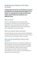 Beneficiary Financial Counseling - ETF - Page 2