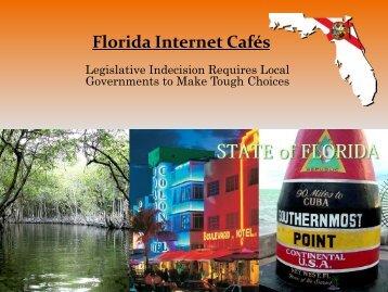 Florida Internet Cafes - Florida League of Cities
