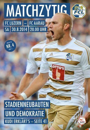 FC LUZERN MATCHZYTIG N°4 14/15 (RSL 7)