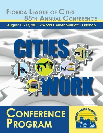 85th Annual Conference Program - Florida League of Cities