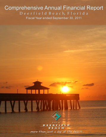 city of deerfield beach, florida comprehensive annual financial report ...