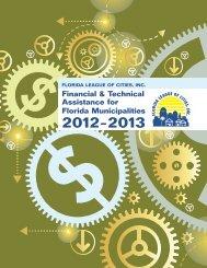 Financial & Technical Assistance for Florida Municipalities 2012-2013