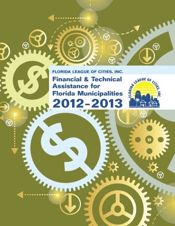 Financial & Technical Assistance for Florida Municipalities 2012-2013