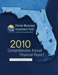 2010 CAFR - Florida League of Cities