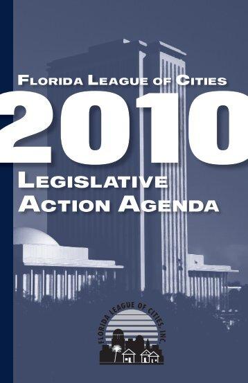 2010 Action Agenda - Florida League of Cities