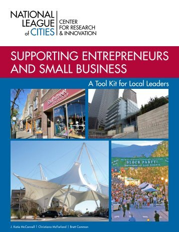Supporting Entrepreneurs and Small Business - National Institute of ...