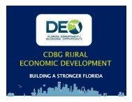 BUILDING A STRONGER FLORIDA - Opportunity Florida