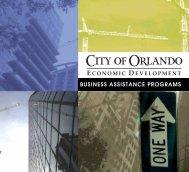 BUSINESS ASSISTANCE PROGRAMS - Florida League of Cities