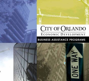 BUSINESS ASSISTANCE PROGRAMS - Florida League of Cities