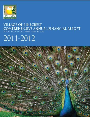 Village of Pinecrest - Florida League of Cities