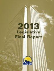 2013 Legislative Final Report - Florida League of Cities