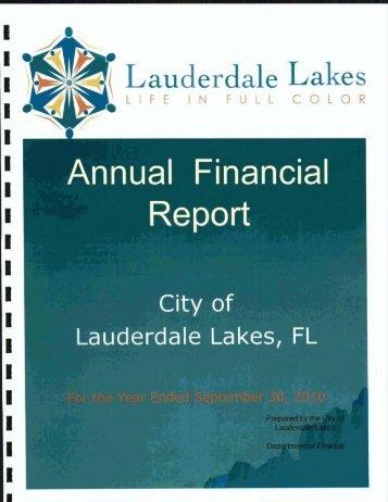 Lauderdale Lakes - Florida League of Cities