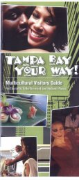 Tampa Bay - Visitors Guide - Florida League of Cities