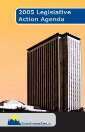 2005 Action Agenda - Florida League of Cities