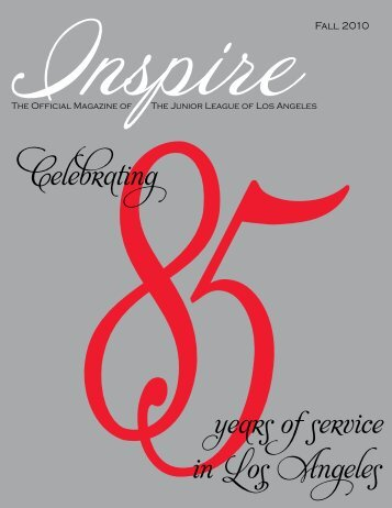 58Celebrating years of service in Los Angeles - Junior League of ...
