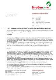 Entscheidung vom 19.04.2013 - Straßen.NRW