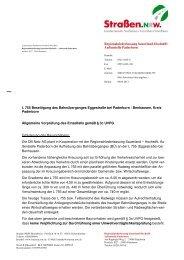 Entscheidung vom 09.04.2013 - Straßen.NRW