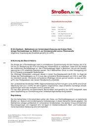 Entscheidung vom 09.01.2007 - Straßen.NRW