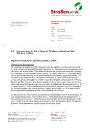 Entscheidung vom 24.09.2012 - Straßen.NRW