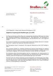 B 237 45-3034 Veröffentlichung Ergebnis ... - Straßen.NRW