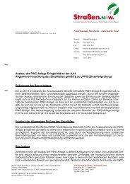 Entscheidung vom 21.07.2006 - Straßen.NRW