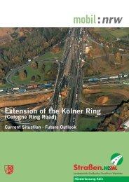 Extension of the Kölner Ring Road (pdf) - Straßen.NRW