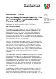 PDF 18KB - Straßen.NRW - Landesregierung Nordrhein-Westfalen