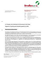 Entscheidung vom 17.12.2009 - Straßen.NRW