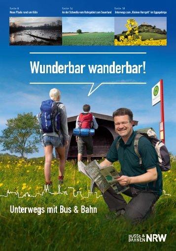 Wunderbar wanderbar! - Die Euregiobahn