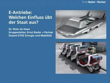 E-Antriebe – welchen Einfluss übt der Staat aus? - Strasseschweiz
