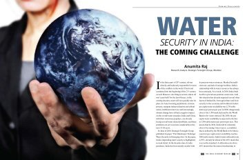 Water Security in India - Strategic Foresight Group