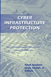Cyber Infrastructure Protection - Strategic Studies Institute - U.S. Army