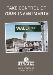 TAKE CONTROL OF YOUR INVESTMENTS - Strateo