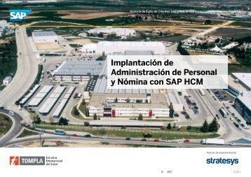 Implantación de Administración de Personal y Nómina ... - SAP.com