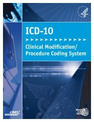 ICD-10-Clinical Modification/Procedure Coding System Fact Sheet