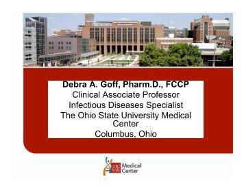 Debra A. Goff, Pharm.D., FCCP - Stratis Health
