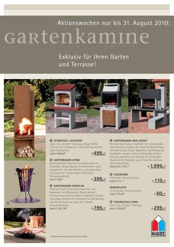 Exklusiv für Ihren Garten und Terrasse! - straub-kachelofen.de